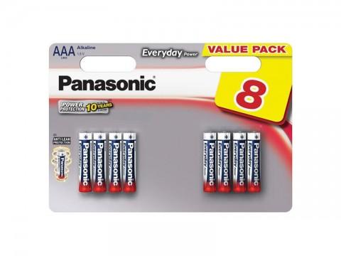 Batérie AAA (R03) alkalická PANASONIC Evolta 8BP