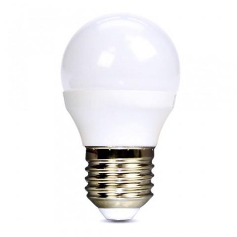 Žiarovka LED E27 6W miniGLOBE biela studená SOLIGHT WZ419-1
