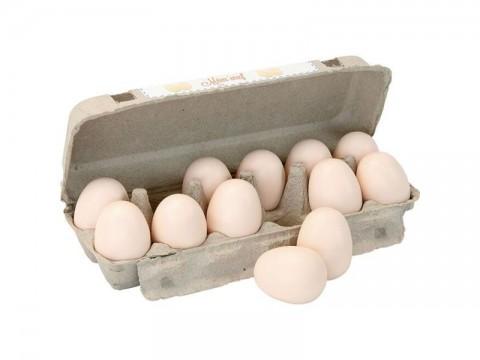 Detské pexeso zvukové VILAC Vajcia drevené