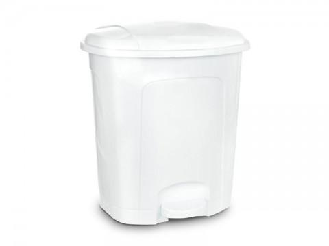 Kôš odpadkový ORION 11,5l s pedálom biely