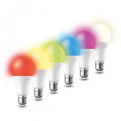 Múdra WiFi žiarovka LED E27 15W RGB SOLIGHT WZ532