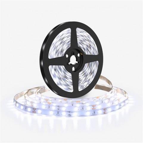 LED pásik 12V 2835 120LED/m IP20 max. 10W/m biela studená (cievka 5m) SOLIGHT WM610