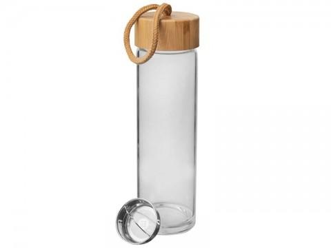 Láhev na vodu ORION sklo / bambus 0,5l
