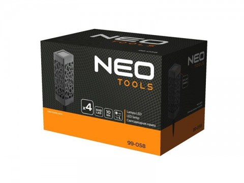 Svietidlo solárne NEO TOOLS 99-058 4ks