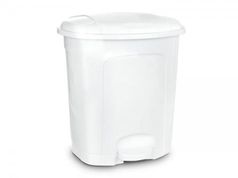 Kôš odpadkový ORION 21l s pedálom biely