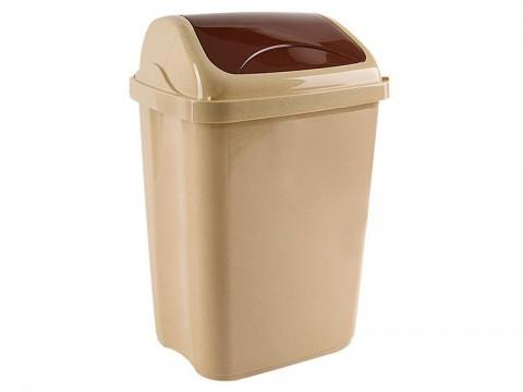 Kôš odpadkový ORION Vittario 26l béžovohnědý