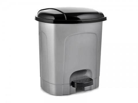 Kôš odpadkový ORION 21l s pedálom šedý