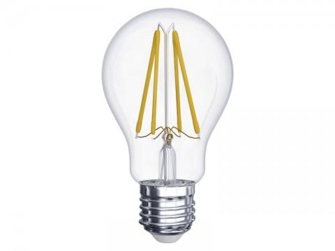 Žiarovka LED E27  6W A60 biela teplá EMOS Z74260