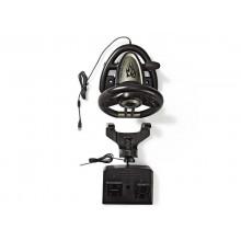 Volant USB NEDIS GSWL200BK herní